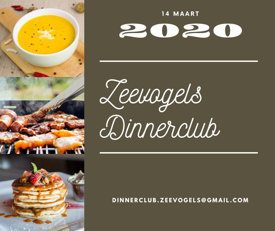 Inschrijven voor Zeevogels Dinnerclub