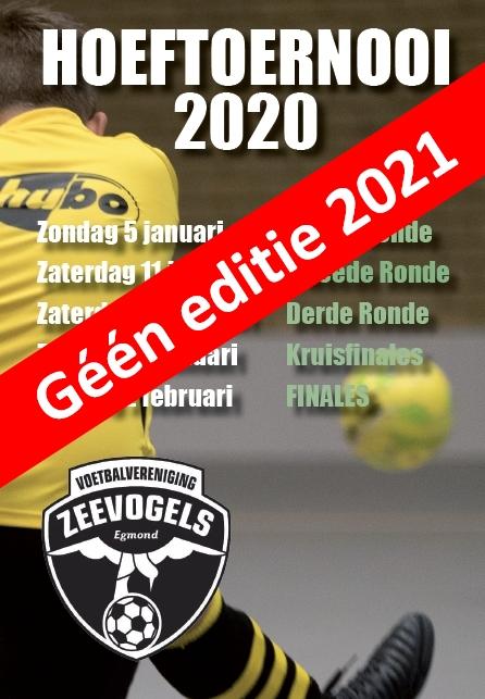 Géén Hoeftoernooi in 2021